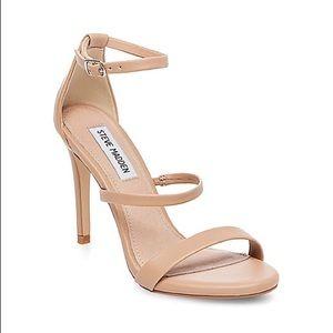 Steve Madden Nude Sheena Strappy Heel Size 8.5